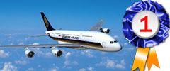 Singapore Airlines, Voted Best Airline in the world