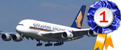 Singapore Airlines, Best Airline in the world