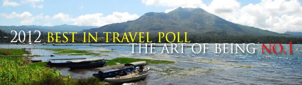 2012 Best in travel poll - BALI the No.1 holiday destination