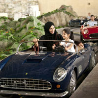 Abu Dhabi fun guide and child-friendly attractions, Ferrari World's classic romp