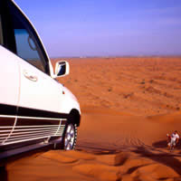 Dubai fun guide, wadi bashing and dune runs image