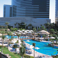 Dubai child friendly hotels, Grand Hyatt is good for business and families