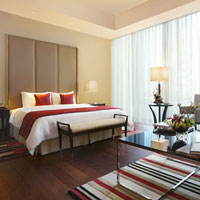 Oberoi is a contemporary Dubai hotel with good business facilities