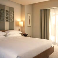 Dubai business hotels review, Park Hyatt room
