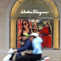 Hanoi shopping guide, Ferragamo on Trang Tien Street
