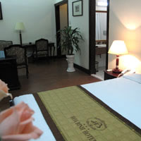 Hanoi heritage hotels, Hoa Binh offers spacious rooms