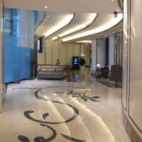 Caravelle new look marble lobby