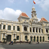 Saigon fun guide, City Hall and public park