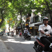 Dong Khoi Street is the place for fun shopping in Saigon