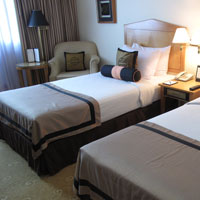 Duxton Saigon review with twin room image