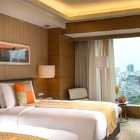 The InterContinental Asiana Saigon is modern and chic