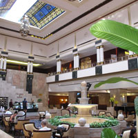 Saigon business hotels, Lotte Legend lobby