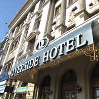 Saigon good value hotels, Riverside is a classic address