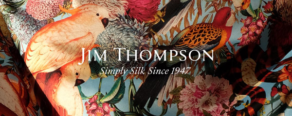 Jim Thompson silk, Thai icon