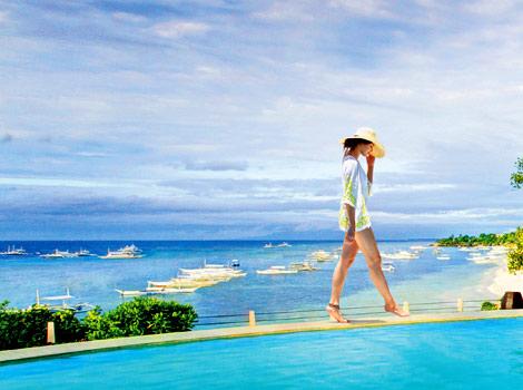 Bohol Romance Galore At The Cliff Edge Pool Above Beach Luxury Resorts Amorita Villa Experience