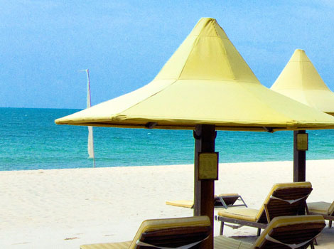 Shimmering White Sand Make This One Of The Best Vietnam Beach Resorts