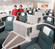 Cathay Pacific new business class seats are fully flat