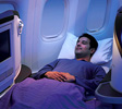 Jet Airways lie-flat business seats