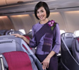 THAI Airways offers a new business class seat