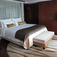 Chengdu business hotels review - Kempinski Hotel suites are spacious - photo by Vijay Verghese