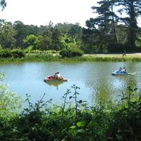 San Francisco fun guide for families: Stowe Lake