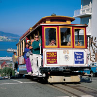 Family-friendly tours in San Francisco, street cars