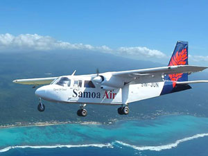 Samoa Air starts charging passengers by the kilo