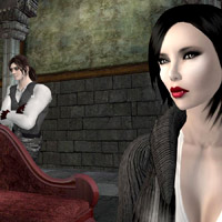 Second Life virtual whims - get a vampire wife