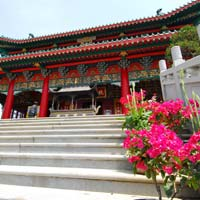 Hong Kong travel guide, Wun Chuen Sin Koon temple in Ping Che