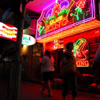 Hong Kong nightlife guide and bars, Lockhart Road, Wanchai