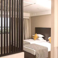 Bangalore budget boutique hotels, Ivory Tower room