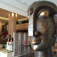 St Regis Mumbai serves up a variety of artworks in the lobby