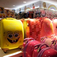 Fun carry-on bags at KL Airport