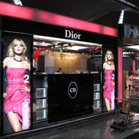 Dior duty-free perfume at KL Airport