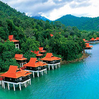 Langkawi family friendly resorts, Berjaya enjoys a wonderful setting