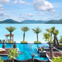 Best Langkawi spa resorts, St Regis pool