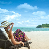 Best Langkawi beaches are in the northeast of the island