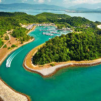 Langkawi fun guide, marina at Vivanta by Tak at Rebak Island