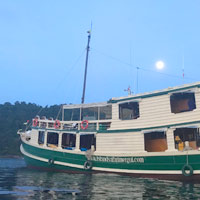 Myanmar boat cruises - Island Safaris is a value option for the Mergui Archipelago