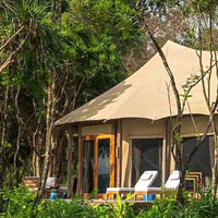 Mergui resorts review, Wa Ale luxury tent