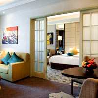 Yangon long-stay hotels, Sedona is a fine choice with smart rooms