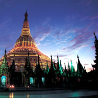 Shwedagon pagoda is a surprisingly family-friendly place