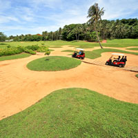 Golfing in Boracay, Fairways course and greens