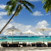 Best Boracay beach resorts, Villa Caemilla is a nice boutique choice