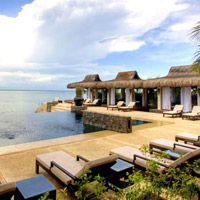 Cebu boutique resorts, abaca pool