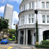 Singapore heritage hotels Capitol Kempinski vs Fullerton? This is smaller and more intimate