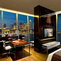 Singapore heritage hotels, Fullerton Bay theme suite