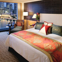 Top Singapore business hotels, Mandarin Oriental Harbour View room