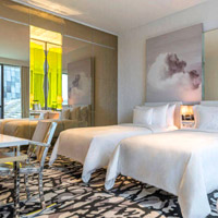 Singapore luxury hotels review, JW Marriott rooms are fresh and airy