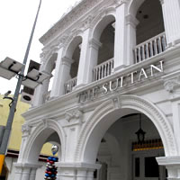 The Sultan is a shophouse boutique hotel near Arab Street